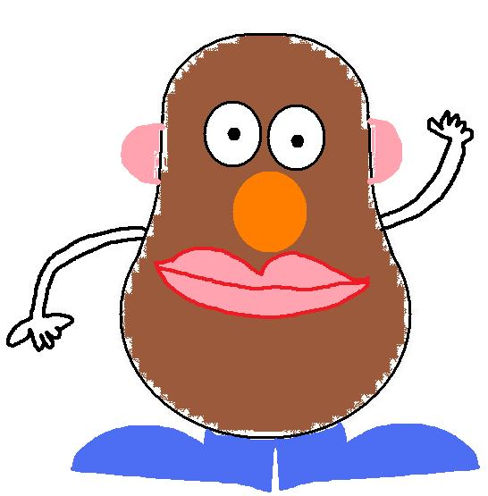 Mr Potato Head Clipart