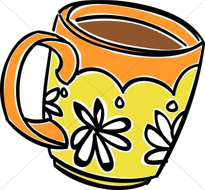 Fun Daisy Coffee Mug