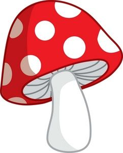 cute cartoon mushroom picture - Mushroom Clipart