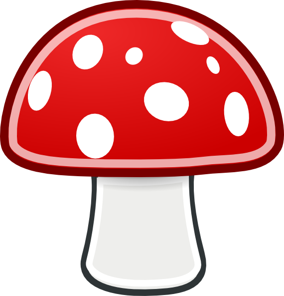 Mushroom Clipart this image as: