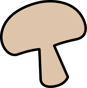 cute cartoon mushroom picture