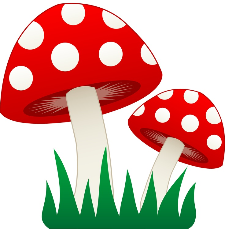 Mushroom Clipart this image a