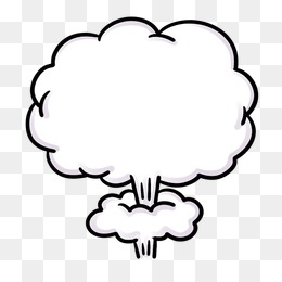 Cloud explosion, Explosion, Clouds, Mushroom Cloud PNG Image