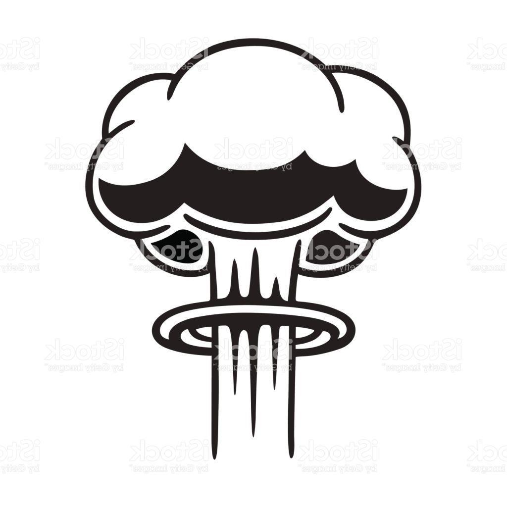 Mushroom Cloud Clipart - Mushroom Cloud Clipart