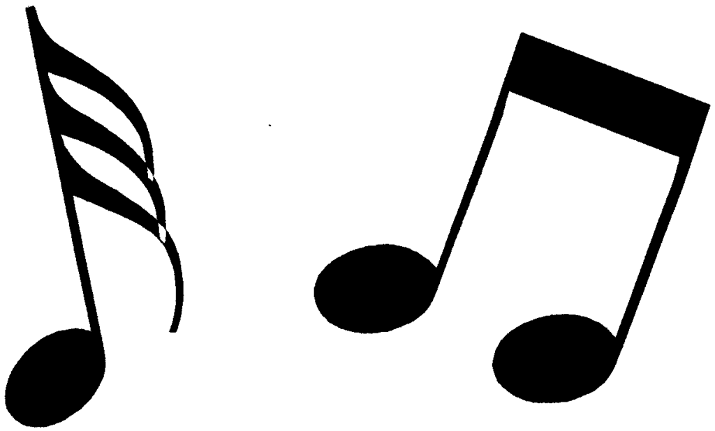 I have music notes Here are some music symbol for you