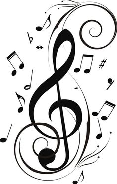 Poetry prompt- take a song (no lyrics) and write the words that mold. More  Music Notes Clipart Black And Whitermation. More Music Notes Clipart Black And Whitermation. Music notes