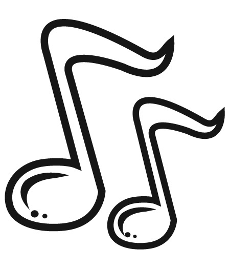 Single Music Notes Clip Art | Clipart library - Free Clipart Images