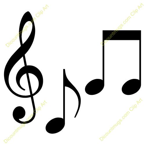 Musical Notes Clip Art