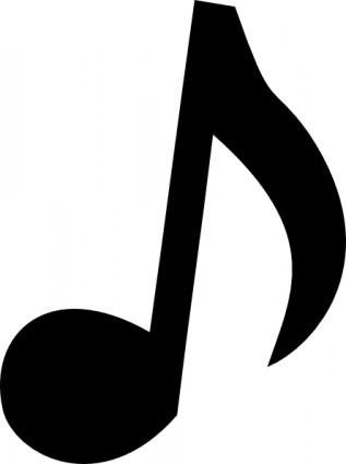 Musical Notes Clip Art Transparent Background Clipart Panda Free
