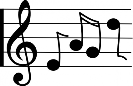 Musical notes music notes images free clip art clipart 2 clipartbold