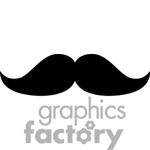 Mustache Clip Art Photos .