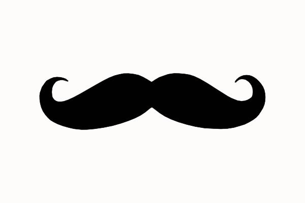 Mustache Clipart - Clipart Kid