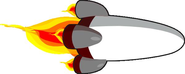 My rocketship edit realistic white clip art at