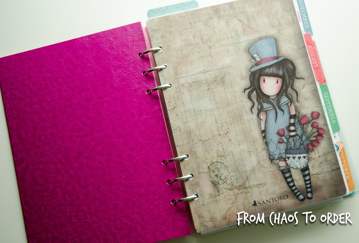 My solution for the ideal planner problem: Filofax Clipbook