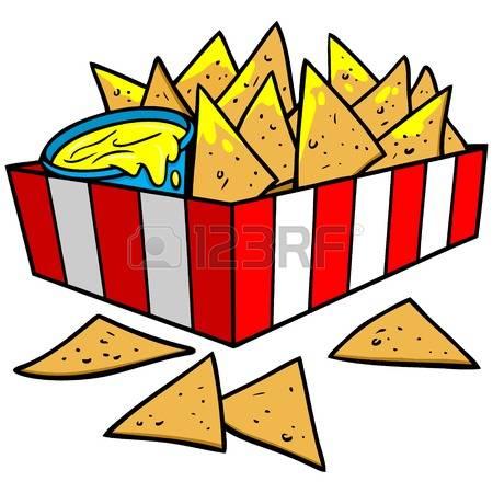 nachos: Nachos Illustration