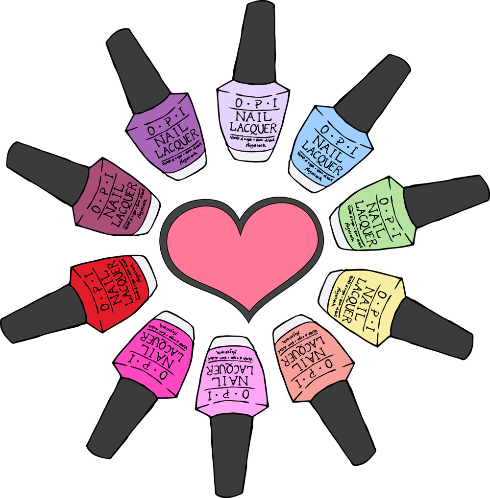 Nail art clip art - .