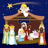 ... nativity christmas scene religious ...