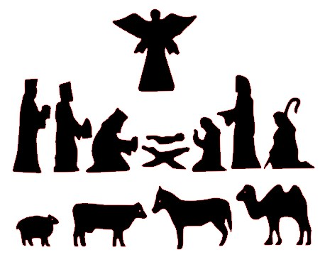Nativity; Nativity Silhouette Patterns - ClipArt Best ...