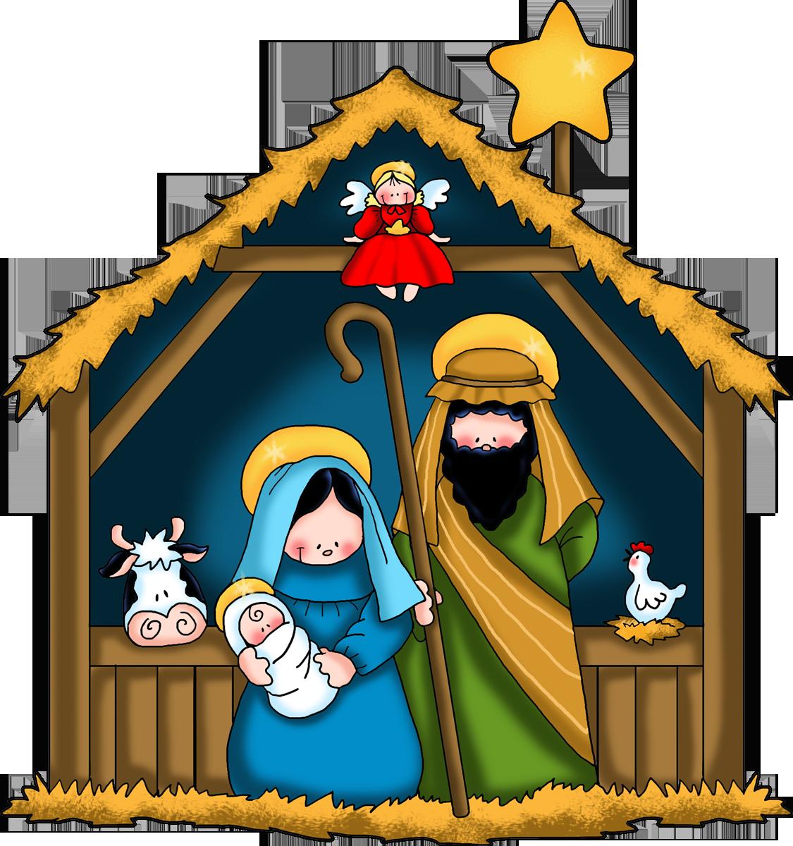 Nativity Scene Clipart New Calendar Template Site