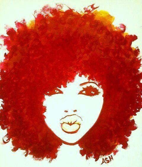 Natural Hair Clip Art | Naturally Me...the Way God Intended .
