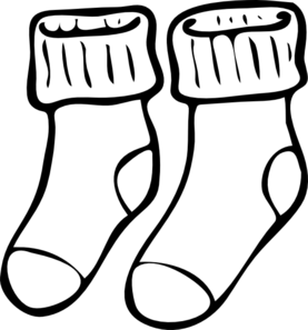 Neat Socks Clip Art At Clker Com Vector Clip Art Online Royalty