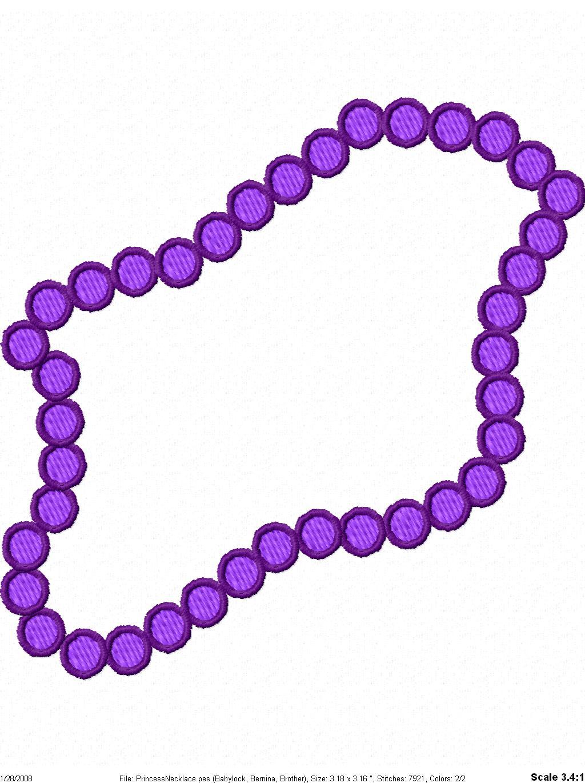 necklace clipart