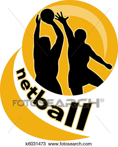 Drawing - netball player jumping ball. Fotosearch - Search Clipart,  Illustration, Fine Art
