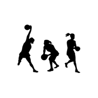 Netball Clipart PNG Image