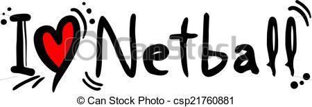 Netball love - csp21760881