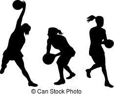 . ClipartLook.com netball player catching ball - illustration of a netball. ClipartLook.com ClipartLook.com