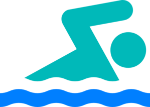 New swimmer clip art at vector .