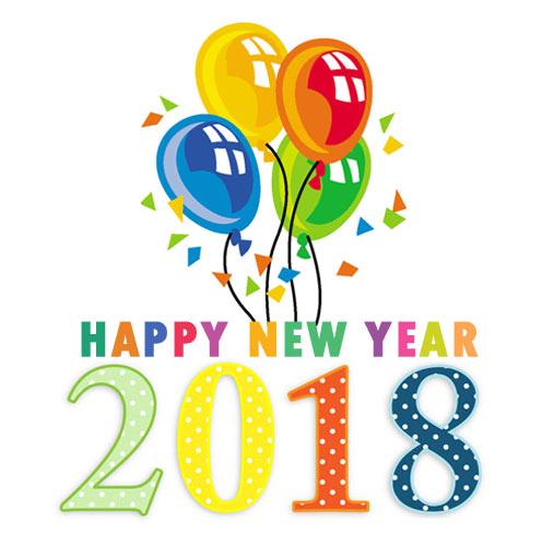 New Year 2018 clipart image 2018 clip art 2018 clip art