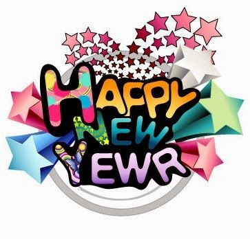New Years Day 2016 Clipart #1