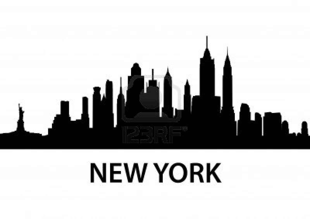 New York Skyline Clipart