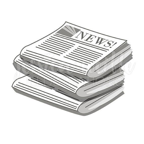 Newspaper Clipart-Clipartlook.com-570