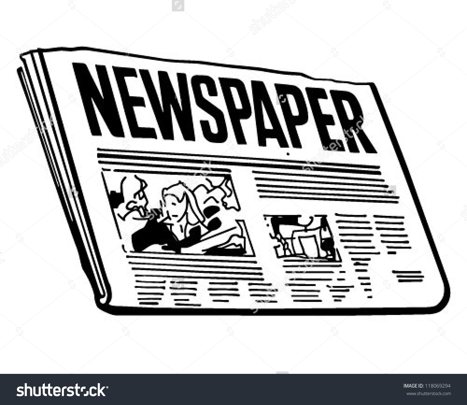 Clipart Of Newspaper Free Clip Art Images FreeClipart Pw