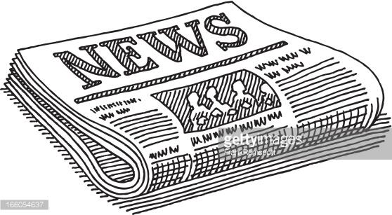 newspaper clipart 4
