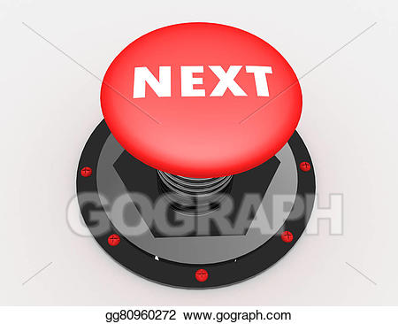 Stock Illustration - Next button. Clipart Illustrations gg80960272