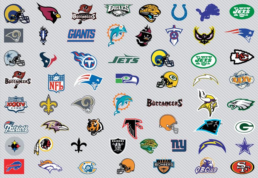Nfl Clip Art Logos. Logos Vectors - 39. Page