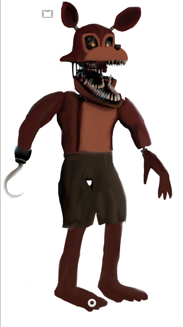 Unwithered Nightmare Foxy by Penfamer2015 ClipartLook.com