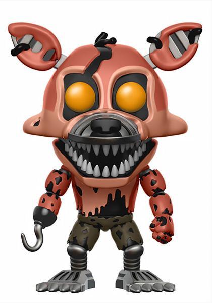 Vinyl Figure: Nightmare Foxy] ClipartLook.com