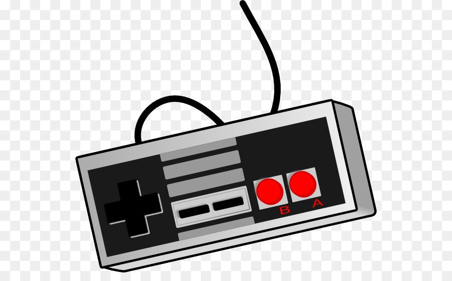 Black u0026 White Xbox 360 Video game Game controller Clip art - Nintendo  Cliparts
