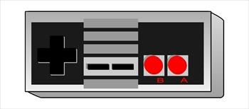 Nintendo Controller Clipart #1