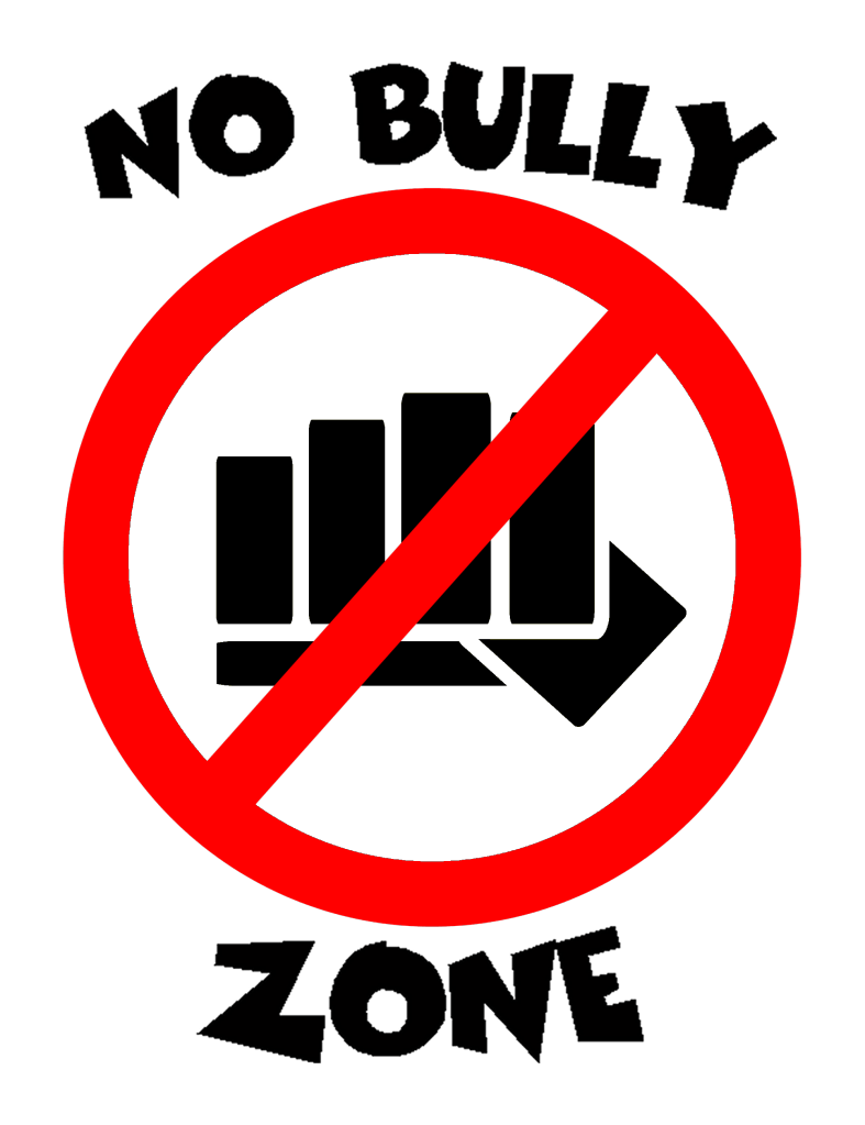 No Bullying Signs Clipart Best