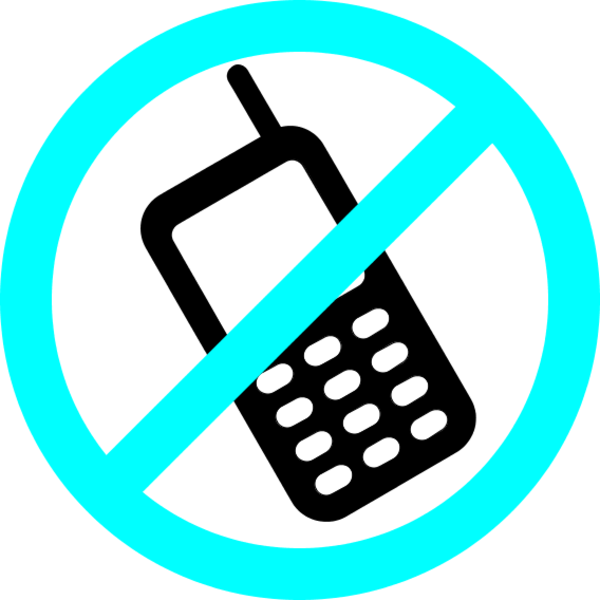 No cell phone clipart free .