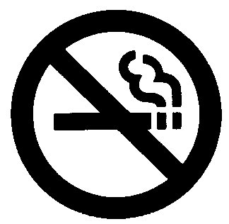 No Smoking Clip Art Sign