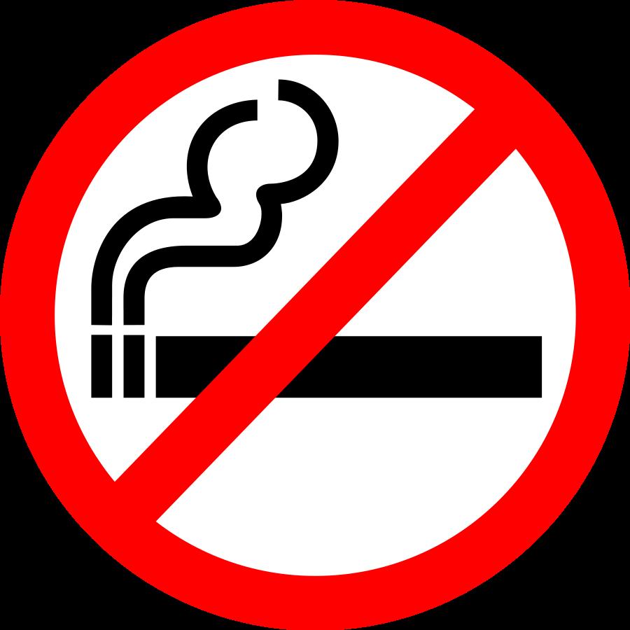 No Smoking Clipart - Clipart .