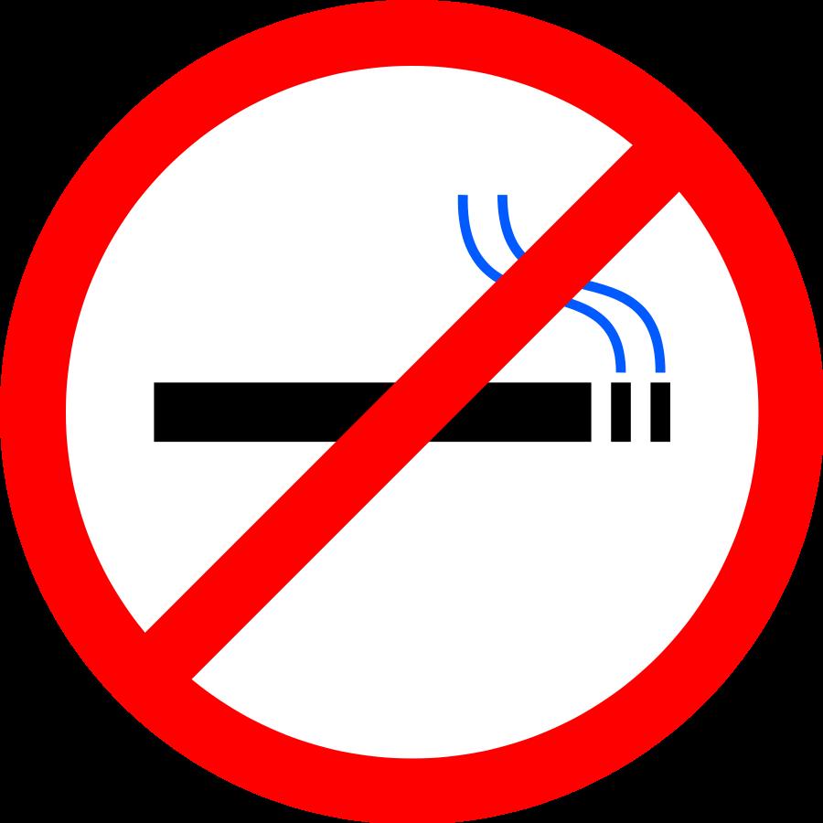 No Smoking Clipart Vector Clip Art Online Royalty Free Design