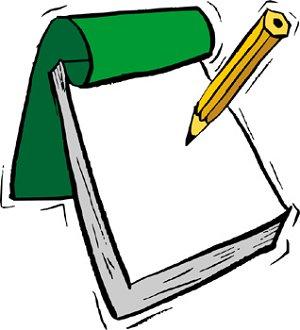 Notepad Clip Art - clipartall ...