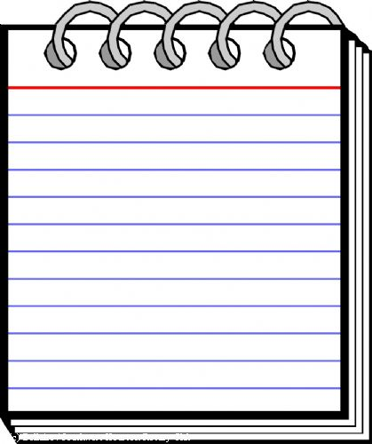 Notepad Clipart Your Cursor Becomes A Little